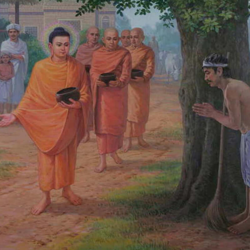Brahman-not by birth, but by action | Vipassana Research