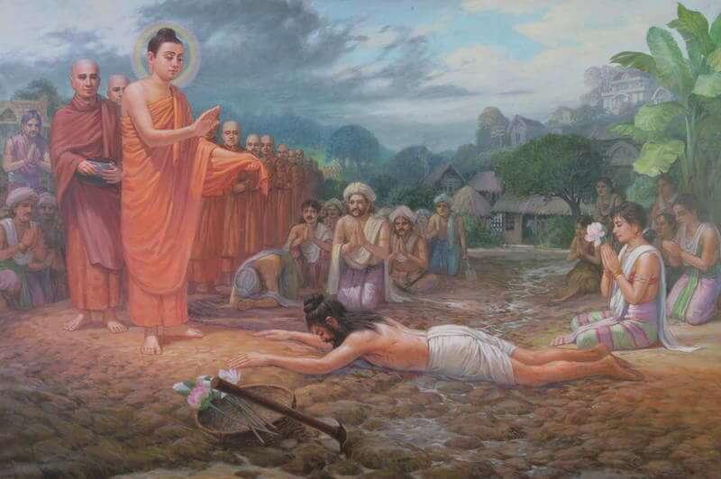preparing to become buddha